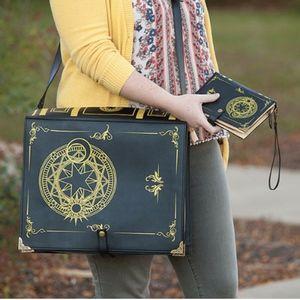 Black Magic Spellbook NEW messages bag
